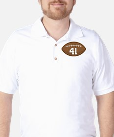 Football Player Number 41 T-Shirt