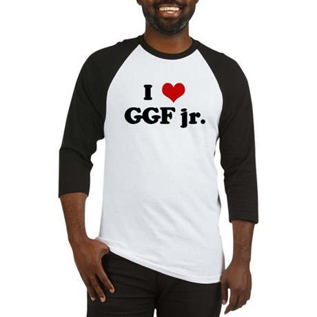 I Love GGF jr. Baseball Jersey
