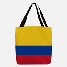 Flag of Colombia Polyester Tote Bag