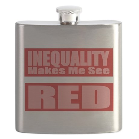 Marriage Equality Equal Sign Flask