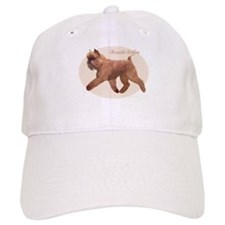 Red Griff Oval Baseball Cap