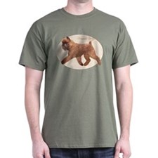 Red Griff Oval T-Shirt
