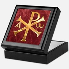 Chi-Rho Keepsake Box