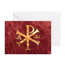 Chi-Rho Greeting Cards (Pk of 20)
