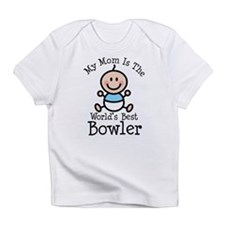 Mom is Worlds Best Bowler Infant T-Shirt