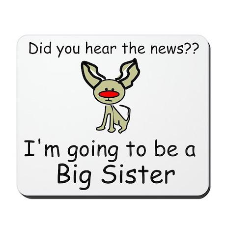 Did you hear the news- BIG SISTER Mousepad