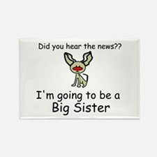 Did you hear the news- BIG SISTER Rectangle Magnet