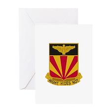 1st BN 56th Air Defense Greeting Card