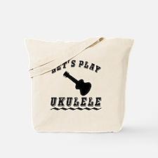 Let's Play Ukulele Tote Bag
