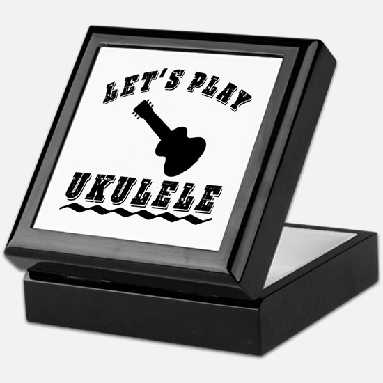 Let's Play Ukulele Keepsake Box