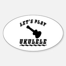 Let's Play Ukulele Decal