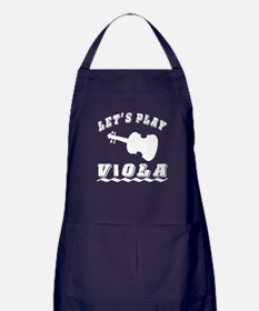 Let's Play Viola Apron (dark)
