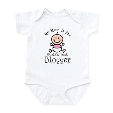 Mom is Worlds Best Blogger Infant Bodysuit