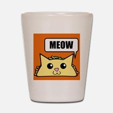 Taco Cat Meow OBG Shot Glass