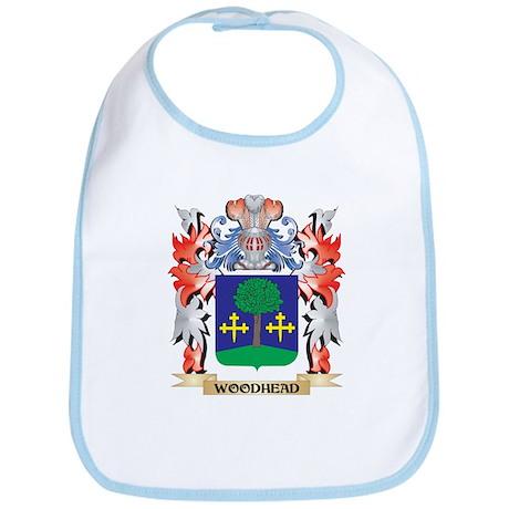 Woodhead Coat of Arms - Family Crest Baby Bib