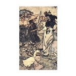 Rackham's Once Upon a Time Rectangle Sticker