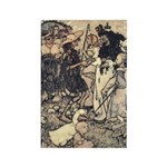 Rackham's Once Upon a Time Rectangle Magnet