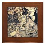 Rackham's Once Upon a Time Framed Tile