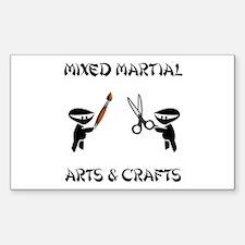 Mixed Martial Arts Crafts Decal