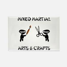 Mixed Martial Arts Crafts Rectangle Magnet (10 pac
