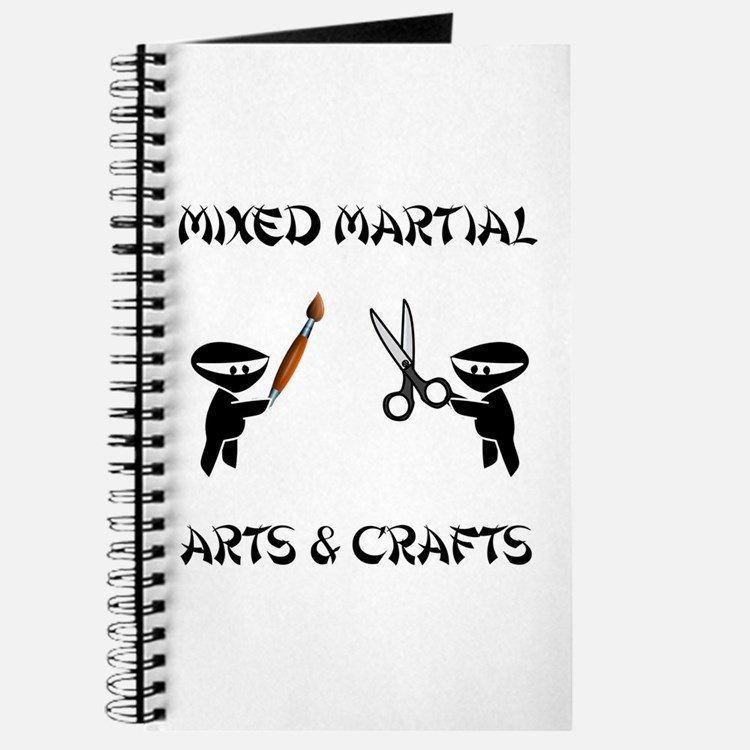 Mixed Martial Arts Crafts Journal