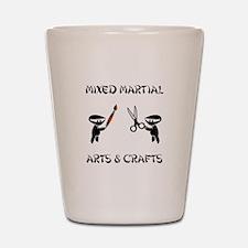 Mixed Martial Arts Crafts Shot Glass
