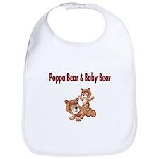 Poppa Bear and Baby Bear Bib