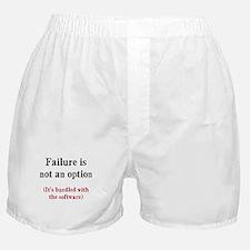 Software Failure Boxer Shorts