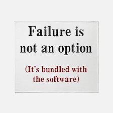 Software Failure Throw Blanket