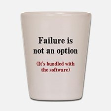 Software Failure Shot Glass