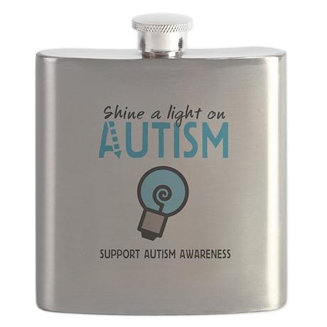 Shine a light on Autism Flask