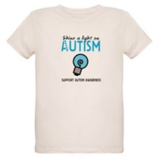 Shine a light on Autism T-Shirt