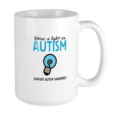 Shine a light on Autism Mug