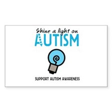Shine a light on Autism Decal