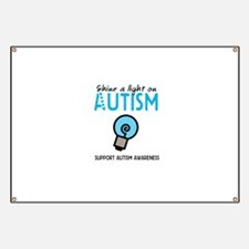 Shine a light on Autism Banner