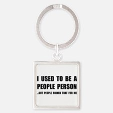 People Person Keychains