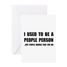 People Person Greeting Card