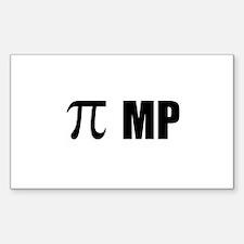 Pi MP Decal