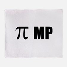 Pi MP Throw Blanket