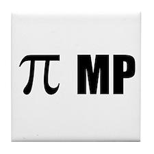 Pi MP Tile Coaster