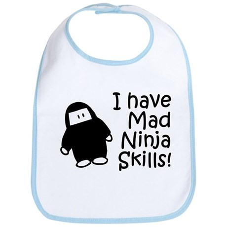 Bubble Ninja Bib