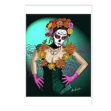 Flowers - Dia de los Muertos Postcards (Package of