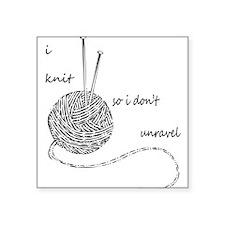 Knit Wit Sticker