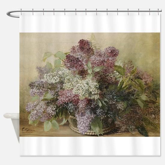 Beautiful Bouquet of Lilacs Shower Curtain