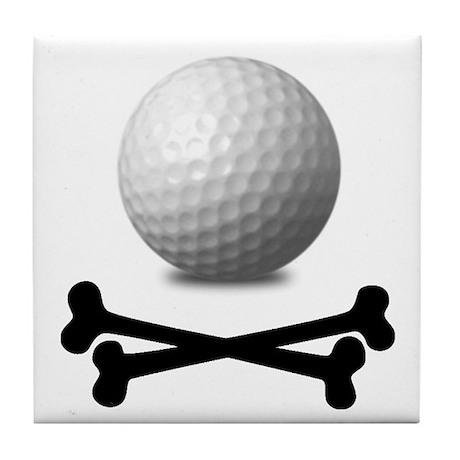 Pirate Golf Tile Coaster