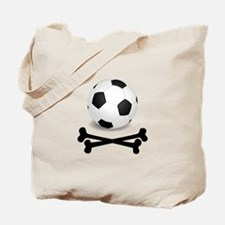 Pirate Soccer Tote Bag