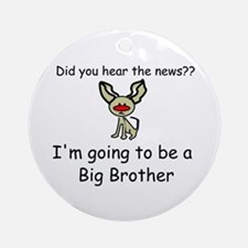 Did you hear the news-going t Ornament (Round)
