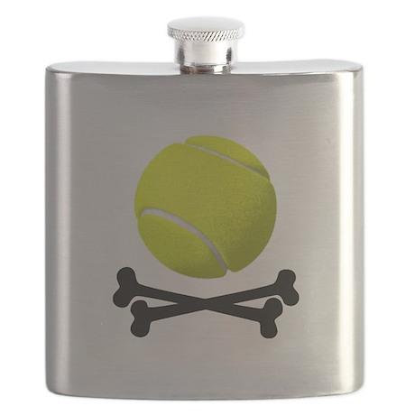 Pirate Tennis Flask