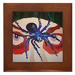 Spider Dan Framed Tile
