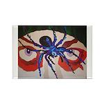 Spider Dan Rectangle Magnet (10 pack)